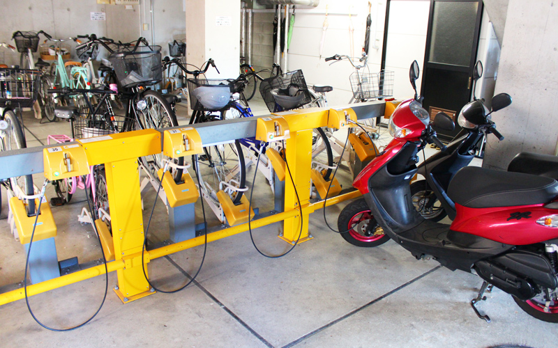 MARUNI 自転車駐輪場